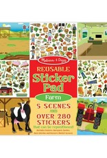 REUSABLE STICKER PAD - FARM