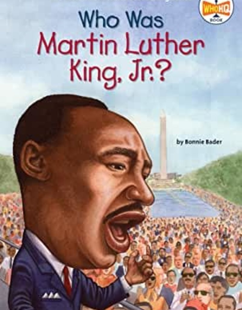 WHO WAS MARTIN LUTHER KING JR