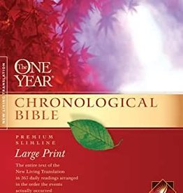 The One Year Chronological Bible (NLT,) Premium Slimline Large Print
