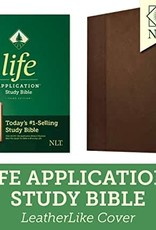 NLT2 Life Application Study Bible (Third Edition)-Dark Brown/Brown LeatherLike