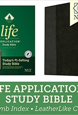 NLT2 Life Application Study Bible (Third Edition)-Red Letter-Brown/Tan LeatherLike