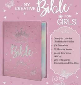 My Creative Bible for Girls ESV Pink