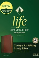 NLT2 Life Application Study Bible (Third Edition)-Red Letter-Brown/Tan LeatherLike Indexed