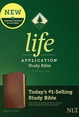 NLT2 Life Application Study Bible (Third Edition)-Brown/Tan LeatherLike