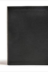 CSB Tony Evans Study Bible--genuine leather, black