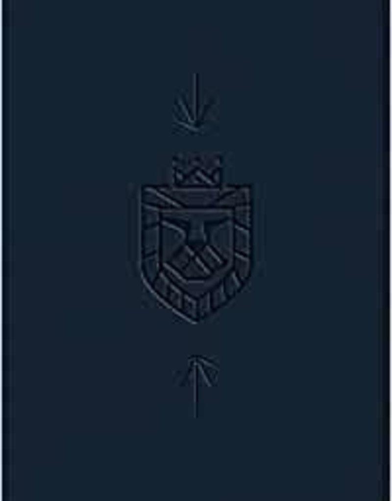 ESV Kid's Compact Bible-Navy Lion Of Judah Design TruTone (Jul)