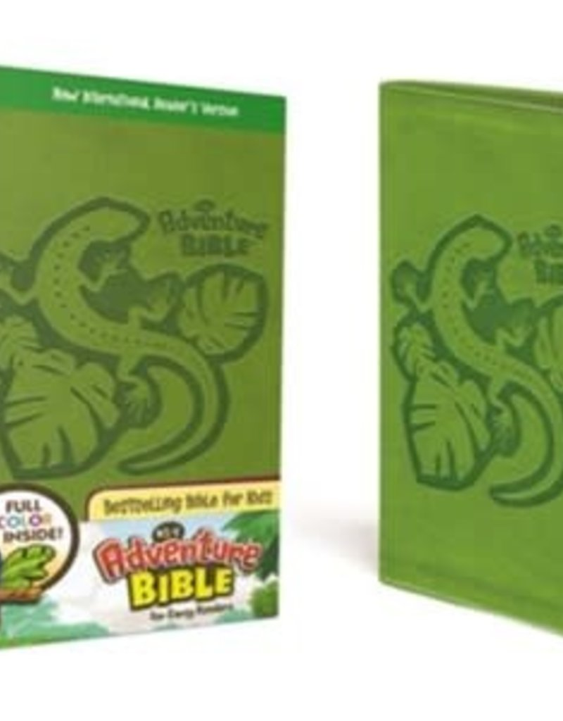 NirV Adventure Bible for Early Readers, Italian Duo-Tone, Jungle Green