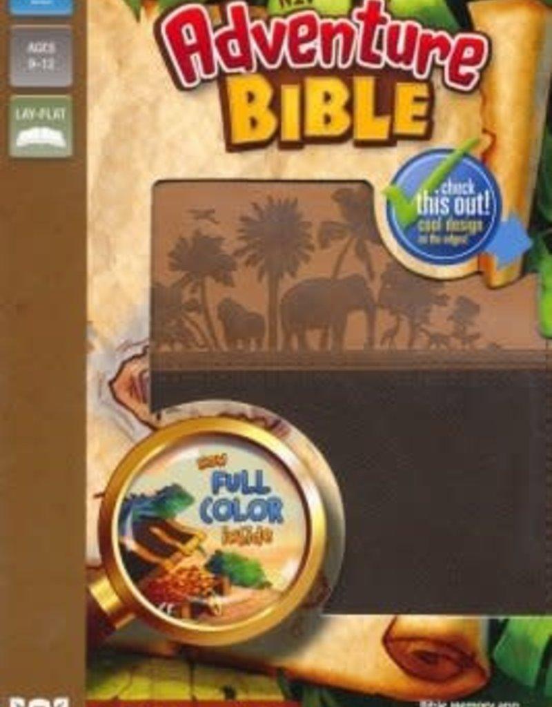 NIV Adventure Bible, Italian Duo-Tone, Chocolate/Toffee
