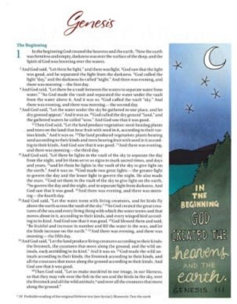 NIV Beautiful Word Bible for Girls--hardcover, teal