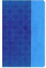 NIV Adventure Bible, Italian Duo-Tone, Electric blue/Ocean blue
