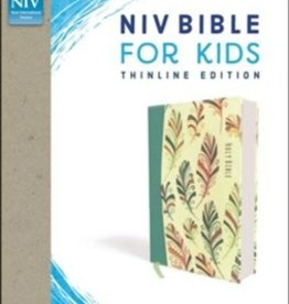 NIV Bible for Kids, Flexcover, Teal, Comfort Print