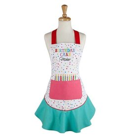 Birthday Cake Maker Ruffle Apron