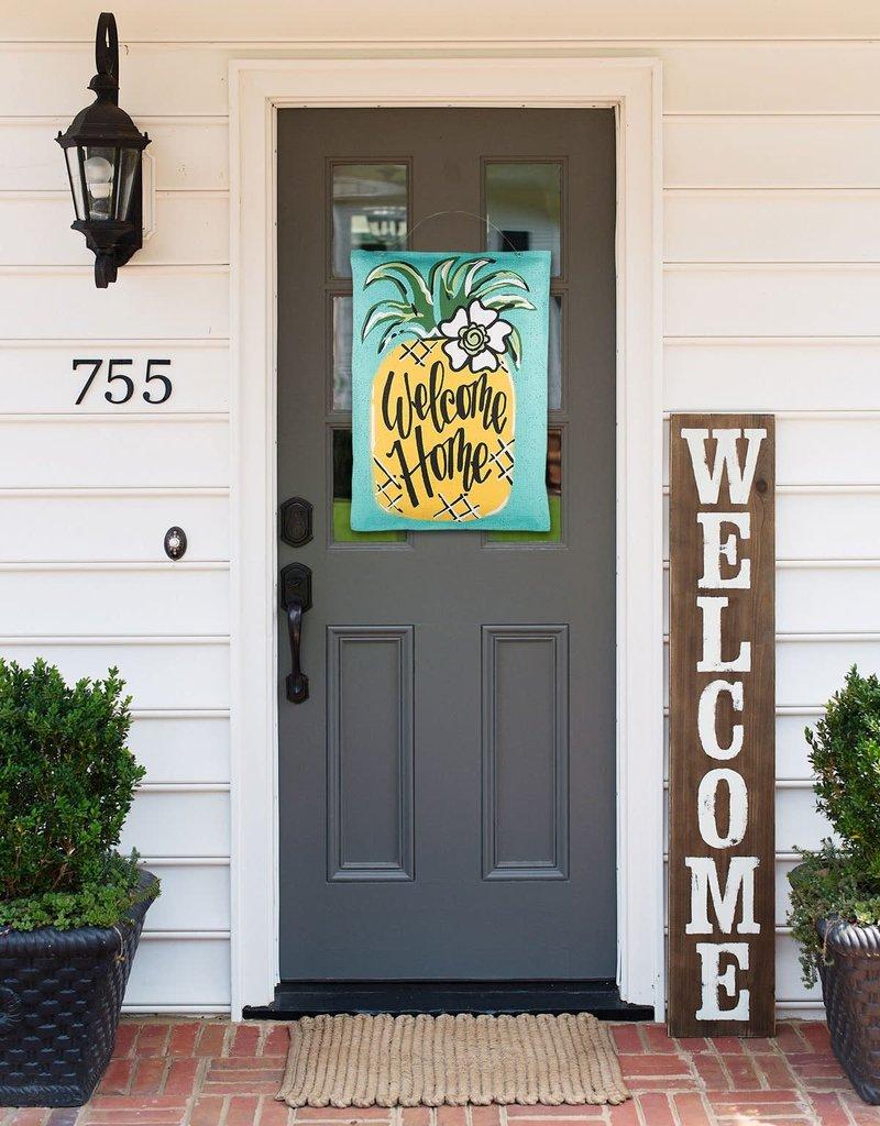 Welcome Home Pineapple Door Hanging