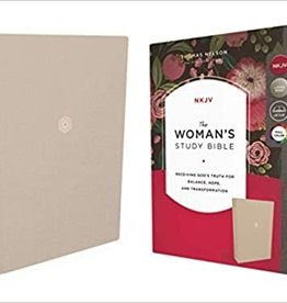 WOMANS STUDY BIBLE HC CRM Thumb Indexed