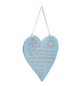 DEAR PRECIOUS BOY HANGING PLAQUE