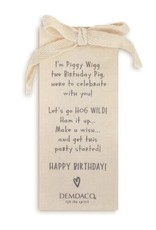 Piggy Wigg the Birthday Pig
