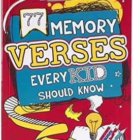77 Memory Verses Every Kid Should Know Book