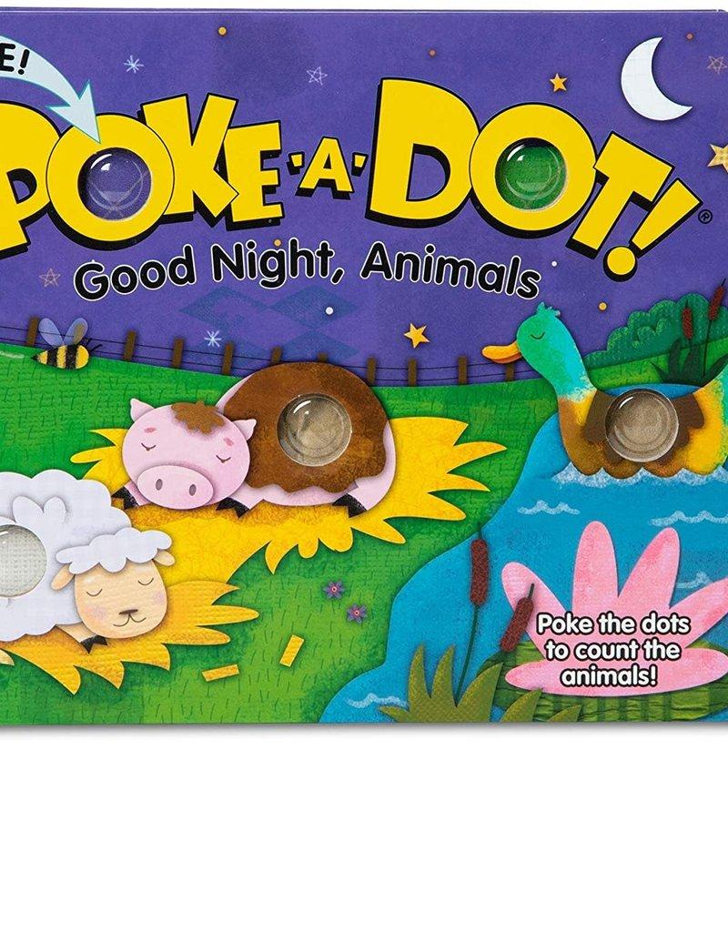 Melissa & Doug - Poke-A-Dot: Good NIght Animals