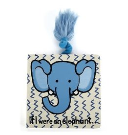 Jellycat- BOOK IF I WERE AN ELEPHANT