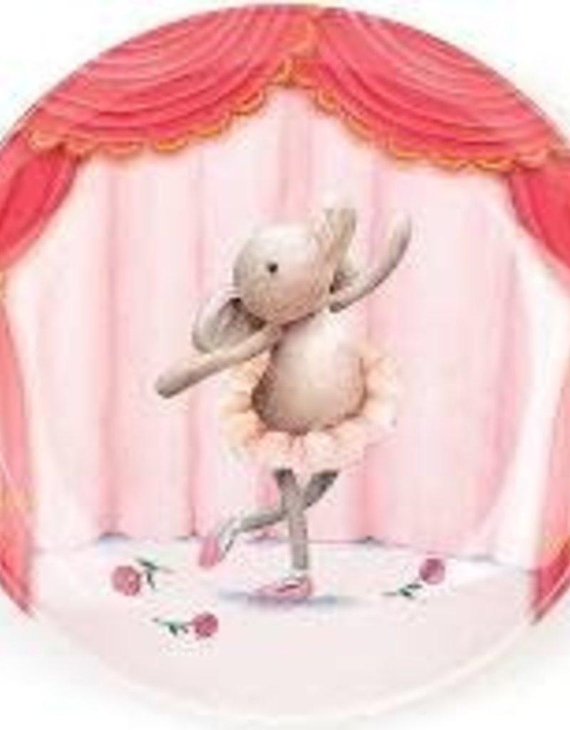 Jellycat- Elly Ballerina Melamine Plate