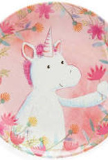 Jellycat- Magical Unicorn Dreams Melamine Plate