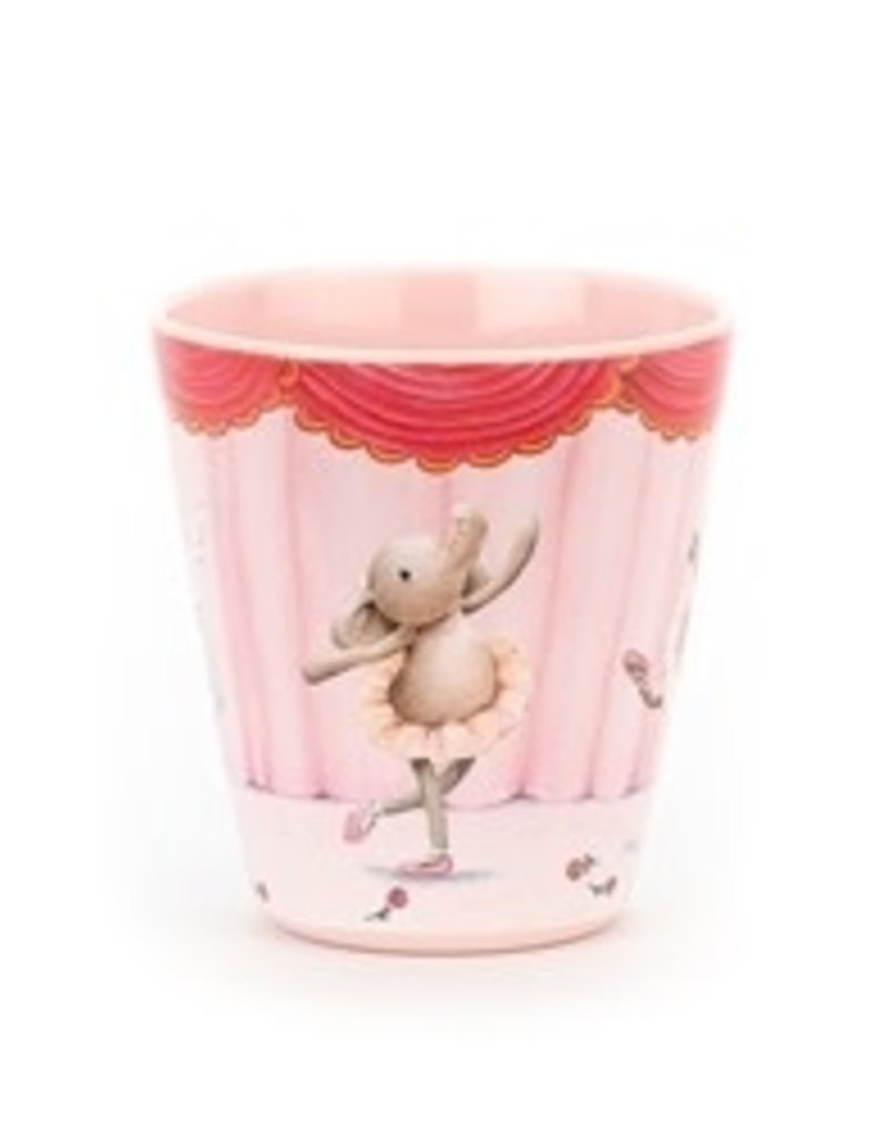 Jellycat- Elly Ballerina Melamine Cup