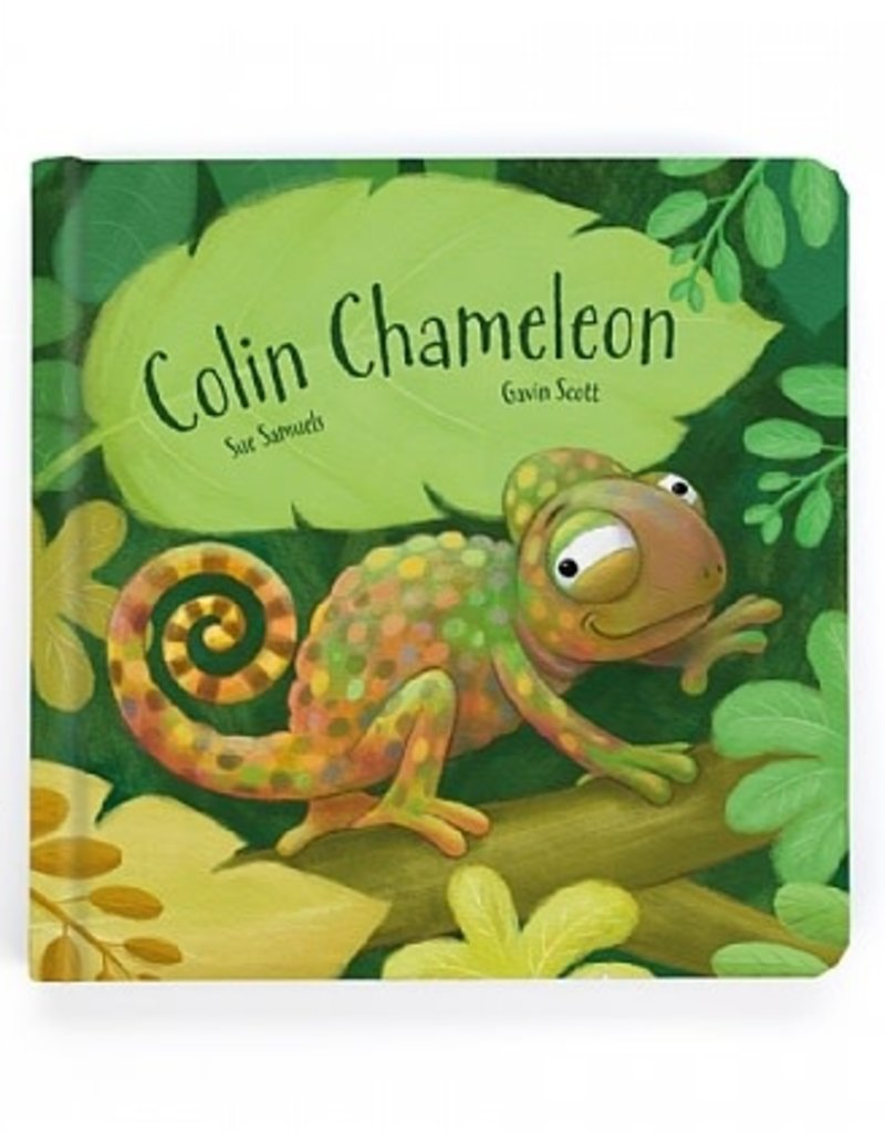 Jellycat- Colin Chameleon Board Book