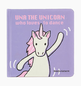 Jellycat-Una The Unicorn Who Loves to Dance Book
