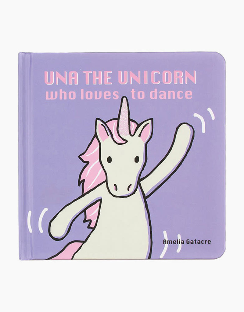 Jellycat-Una The Unicorn Who Loves to Dance