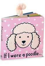 Jellycat-If I were a Poodle Blush Book