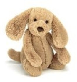 Jellycat-Bashful Toffee Puppy Medium