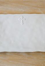 Cross Platter White
