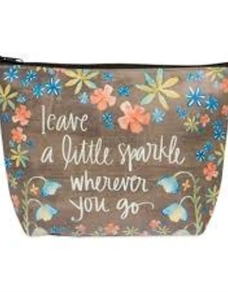 Leave a little Sparkle Cosmetic Bag