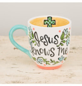 MUG JUMBO JESUS KNOWS ME