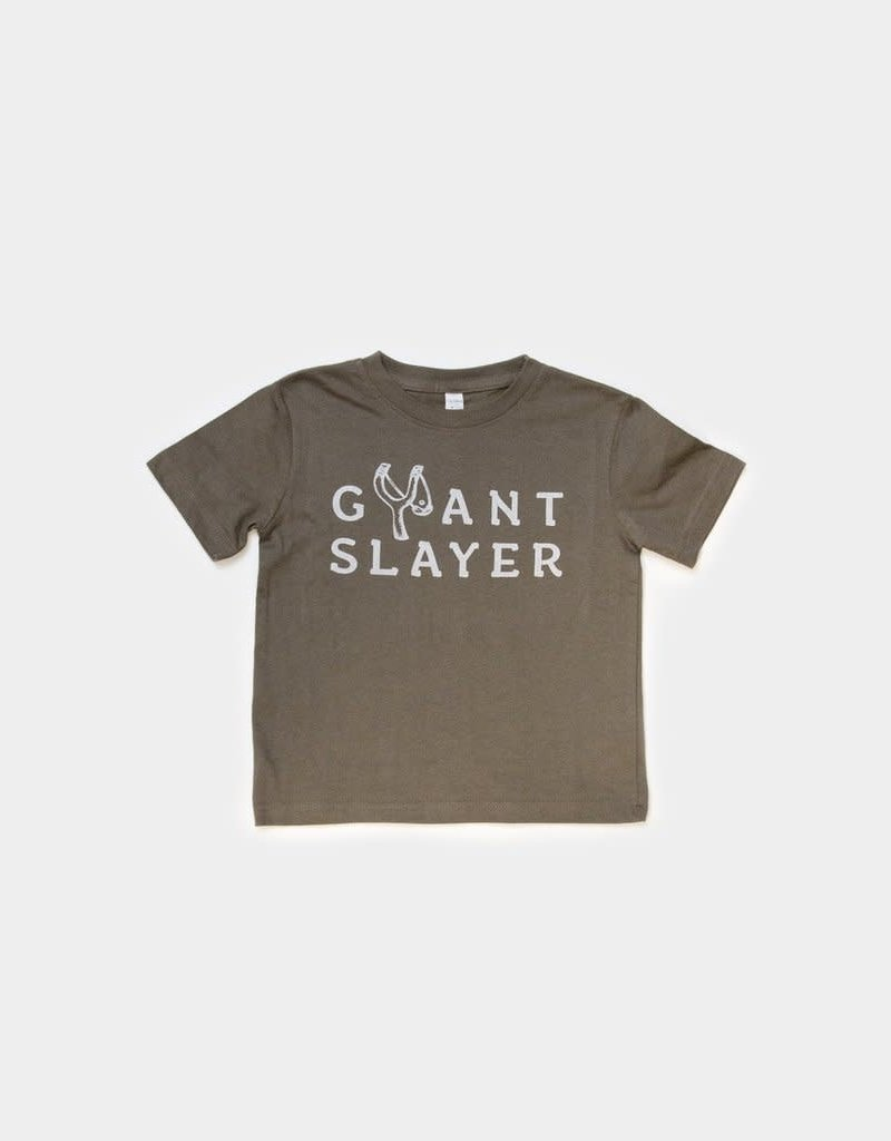 Giant Slayer Tee- 2T