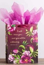 Gift Bag-I Will Bless You LG  91345