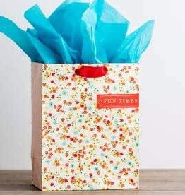 Gift Bag-Floral Fun Times-ECCL 8:15-Med 10454