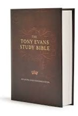 CSB Tony Evans Study Bible, Hardcover