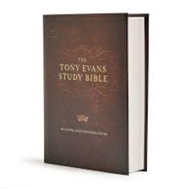 CSB Tony Evans Study Bible, Hardcover