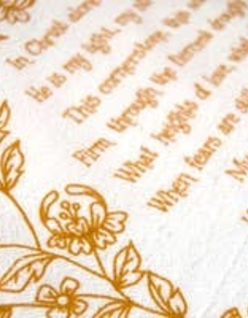In Christ Alone Hymn Tea Towel