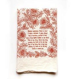 Blessed Assurance Hymn Tea Towel