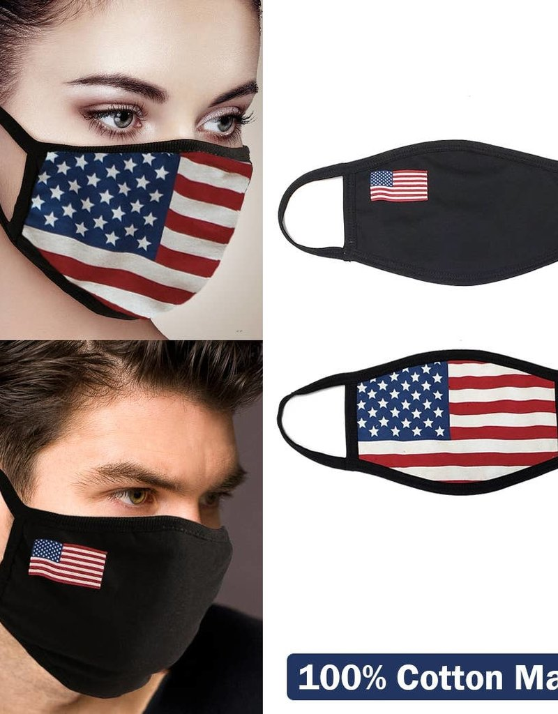 Unisex Face Mask USA Flag