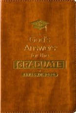 God's Answers for the Graduate: Class of 2020 - Brown NKJV