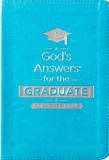 God's Answers for the Graduate: Class of 2020 - Teal NKJV