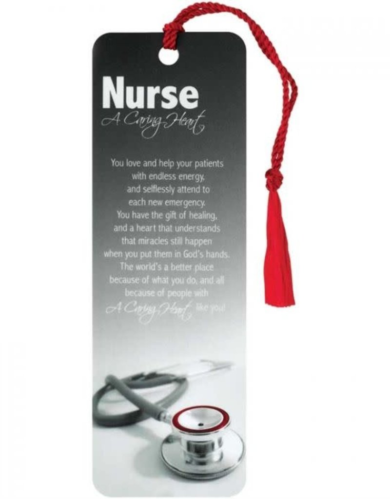 BOOKMARK TASSEL- NURSE