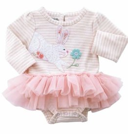Mud Pie: BUNNY TUTU CRAWLER (Size 3-6 Month)
