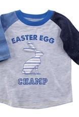 Mud Pie: Easter Egg Champ T SHIRT MED (2T/3T)