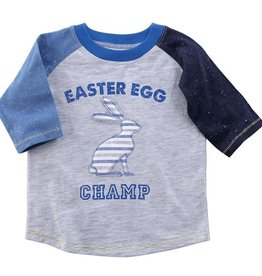 Mud Pie: Easter Egg Champ T SHIRT MED (2T/3T)