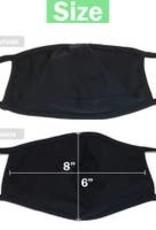 Unisex Face Mask - Black