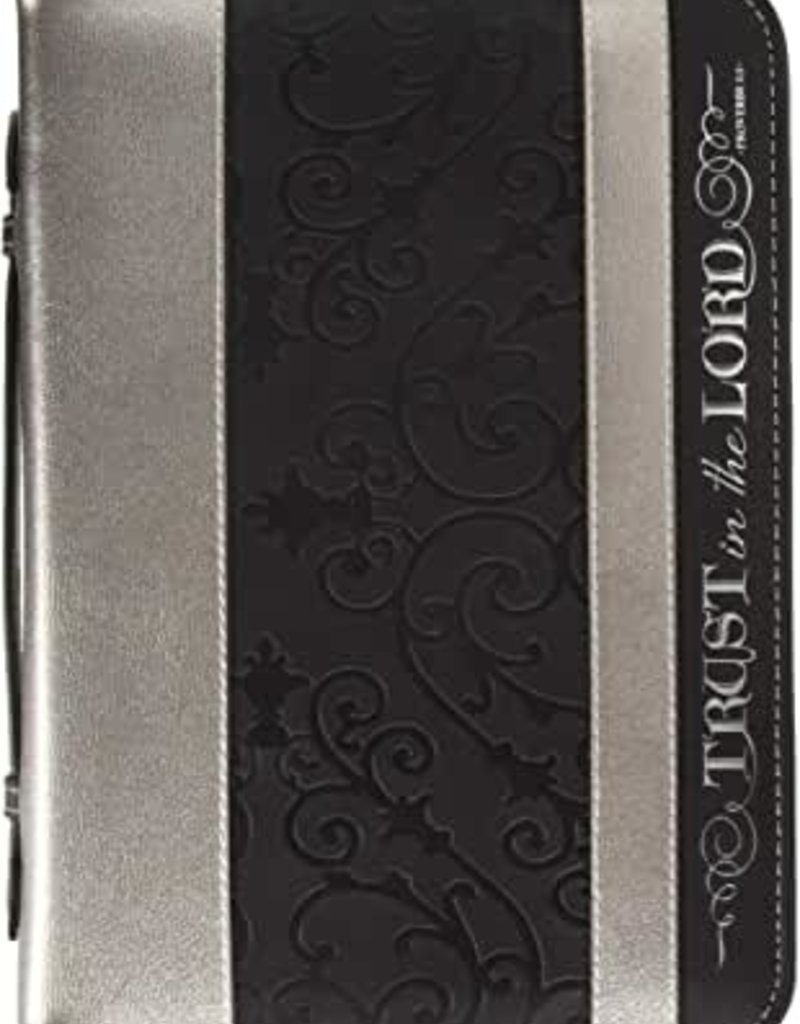 BC Divine Details LG BK & SILVER -Trust in the Lord